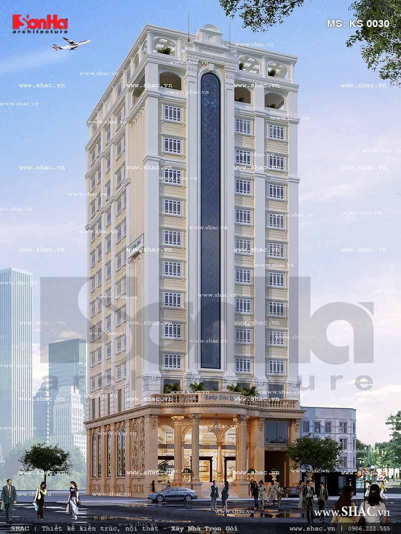 Công trình thiết kế khách sạn tiêu chuẩn 3 sao uy nghi tại Quảng Ninh gây ấn tượng lớn với Du khách