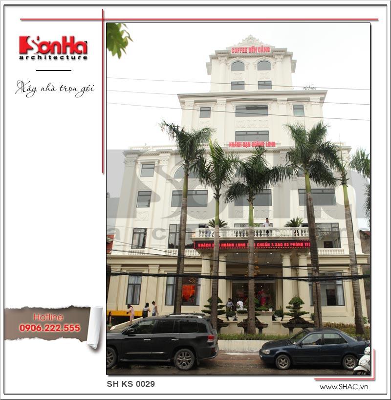 Thiết kế tổ hợp khách sạn nhà hàng trung tâm tổ chức sự kiện đẹp – SH KS 0029 4