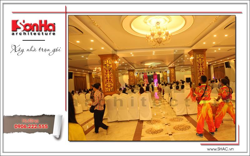Thiết kế tổ hợp khách sạn nhà hàng trung tâm tổ chức sự kiện đẹp – SH KS 0029 6