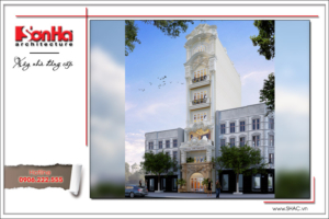 Thiết kế khách sạn mini cổ điển Pháp sang trọng tại Hà Nội – SH KS 0027 4