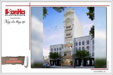 Thiết kế khách sạn mini cổ điển Pháp sang trọng tại Hà Nội – SH KS 0027 2