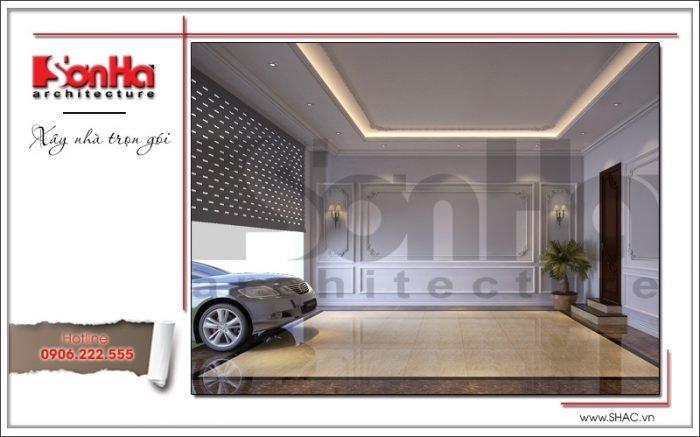 Thiết kế biệt thự kiến trúc Pháp 3 tầng mái ngói đỏ tại Ninh Bình – SH BTP 0094 43
