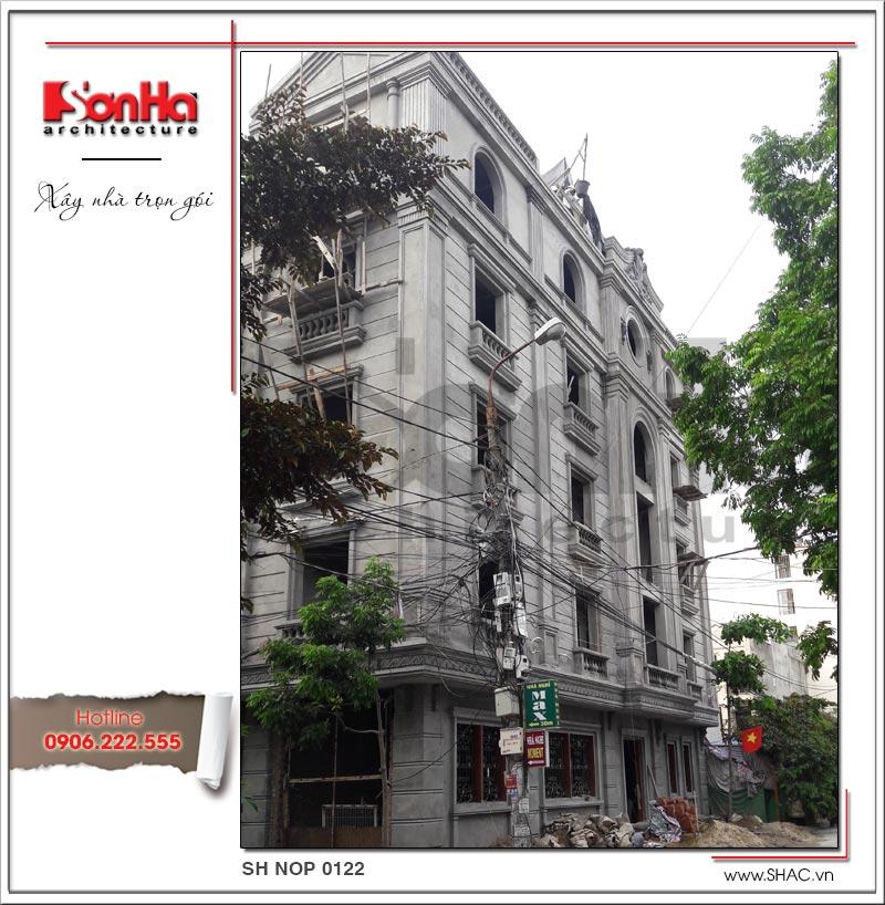 Thiết kế nhà phố cổ điển 5 tầng tại Hải Phòng xu hướng [next_year] - SH NOP 0122 15