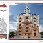 Thiết kế biệt thự cổ điển Pháp đẳng cấp 6 tầng tại Vũng Tàu sh btp 0096