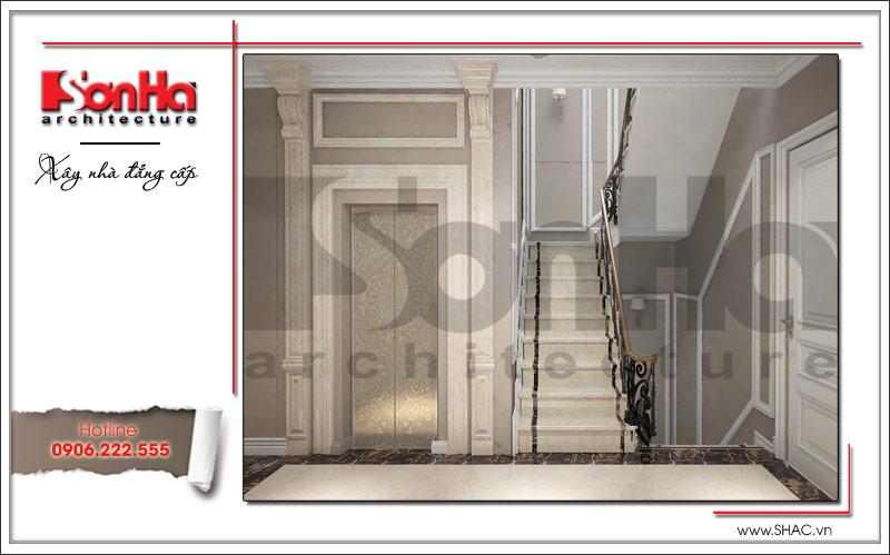 Thiết kế nhà phố cổ điển 5 tầng tại Hải Phòng xu hướng [next_year] - SH NOP 0122 13