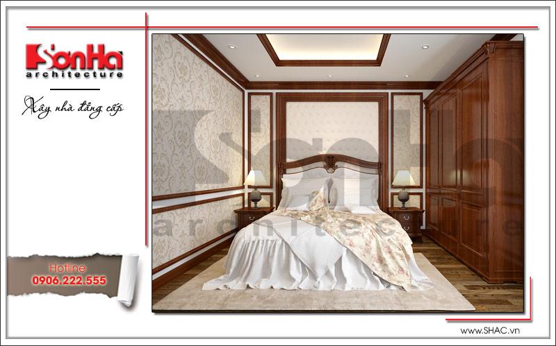 Ra mắt mẫu thiết kế nhà phố cổ điển 4 tầng tại Nam Định - SH NOP 0125 9