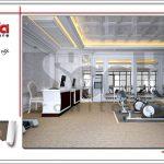 Thiết kế nội thất phòng tập khách sạn tại Đà Nẵng sh ks 0031