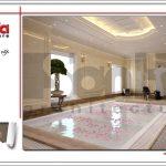 Mẫu thiết kế nội thất phòng xông sục khách sạn tại Đà Nẵng sh ks 0031