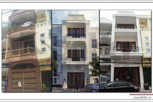 Ảnh so sánh hiện trạng nhà phố sau cải tạo tại Hải Phòng sh nop 0109