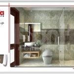 Thiết kế nội thất phòng tắm 3 hiện đại sh nop 0122