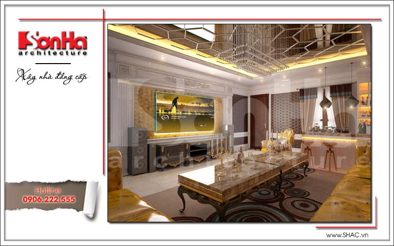 Ra mắt mẫu thiết kế nhà phố cổ điển 4 tầng tại Nam Định - SH NOP 0125 13