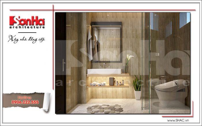 Mâu xthieets kế nội thất nhà tắm phong cách hiện đại sh btd 0048