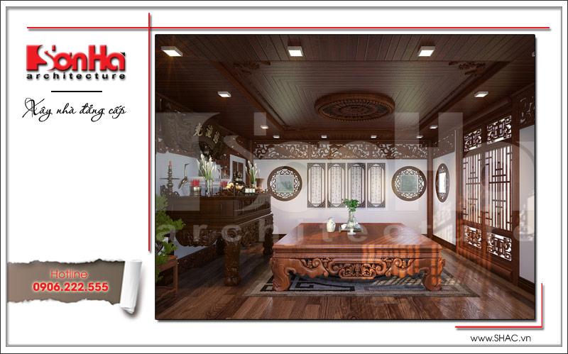 Ra mắt mẫu thiết kế nhà phố cổ điển 4 tầng tại Nam Định - SH NOP 0125 12