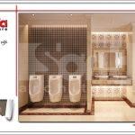 Mẫu thiết kế nội thất phòng wc nữ khách sạn tại Đà Nẵng sh ks 0031