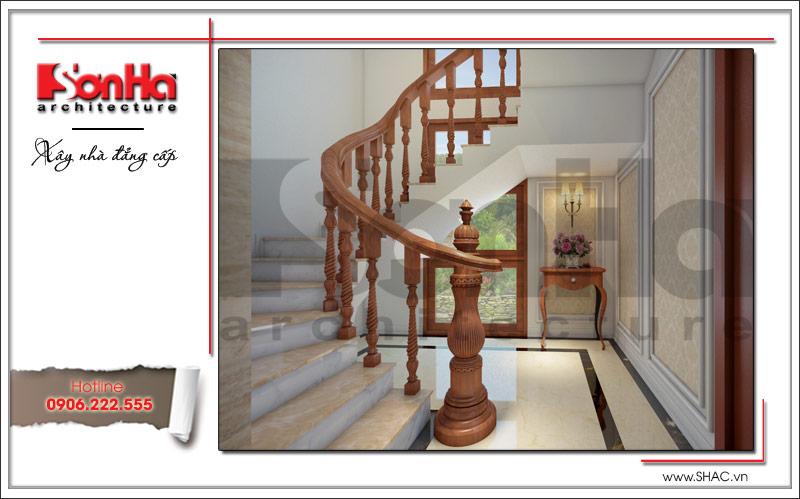 Ra mắt mẫu thiết kế nhà phố cổ điển 4 tầng tại Nam Định - SH NOP 0125 18