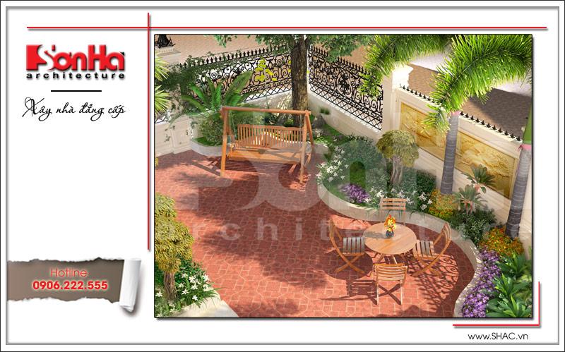 Ra mắt mẫu thiết kế nhà phố cổ điển 4 tầng tại Nam Định - SH NOP 0125 22