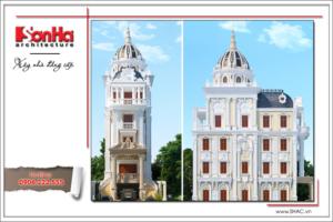 Biệt thự lâu đài 6 tầng kiến trúc Pháp cổ điển - BTLD 0006 15