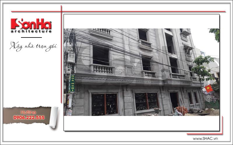 Thiết kế nhà phố cổ điển 5 tầng tại Hải Phòng xu hướng [next_year] - SH NOP 0122 18