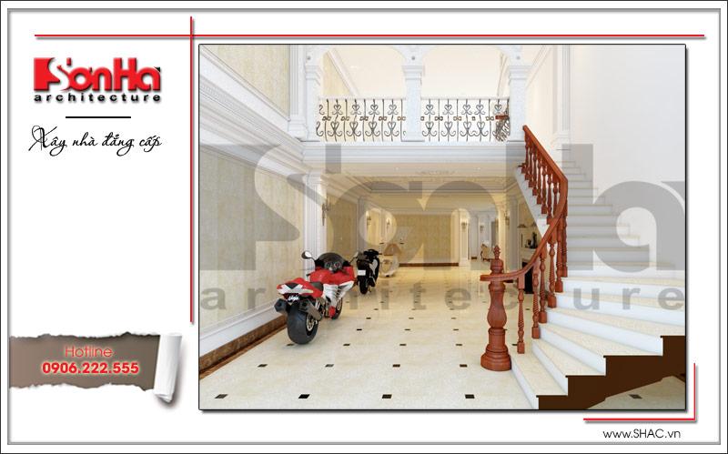 Ra mắt mẫu thiết kế nhà phố cổ điển 4 tầng tại Nam Định - SH NOP 0125 20