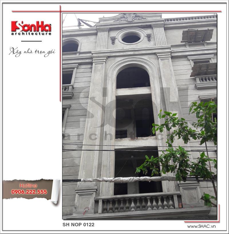 Thiết kế nhà phố cổ điển 5 tầng tại Hải Phòng xu hướng [next_year] - SH NOP 0122 17