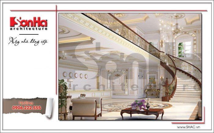 Mẫu thiết kế nội thất sảnh khách sạn tại Đà Nẵng sh ks 0031