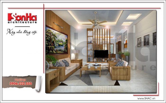 thiết kế bàn ghế phòng khách hiện đại cao cấp