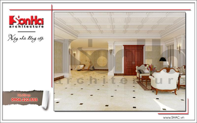 Ra mắt mẫu thiết kế nhà phố cổ điển 4 tầng tại Nam Định - SH NOP 0125 21