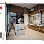 Thiết kế nội thất quầy lưu niệm khách sạn tại Đà Nẵng sh ks 0031