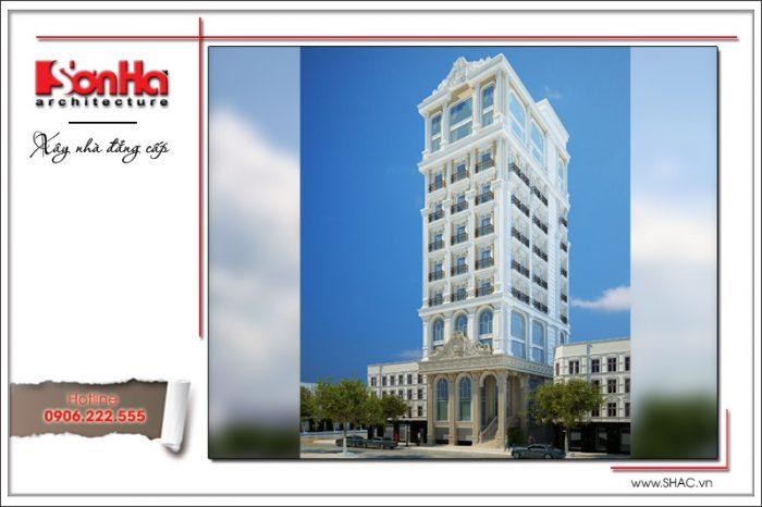 Mẫu thiết kế kiến trúc tòa nhà văn phòng cổ điển đã hạ gục mọi ánh nhìn với gam màu hợp thời