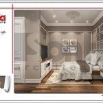 Mẫu thiết kế nội thất phòng ngủ 2 hiện đại sh nop 0122