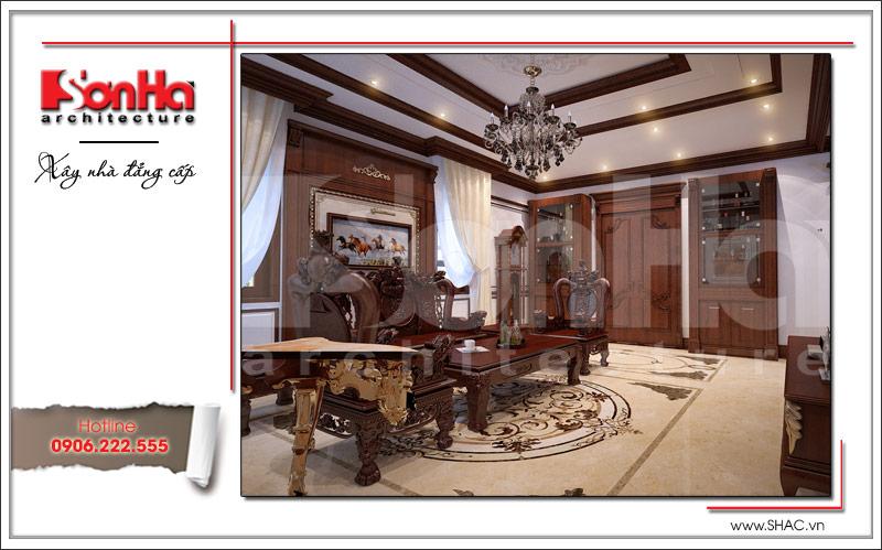 Ra mắt mẫu thiết kế nhà phố cổ điển 4 tầng tại Nam Định - SH NOP 0125 4