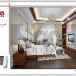 Thiết kế phòng ngủ nhà ống hiện đại tại Quảng Ninh sh nod 0159