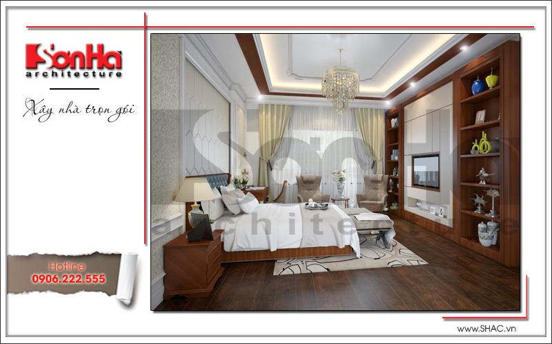 Mãn nhãn với nhà phố 4 tầng hiện đại mặt tiền rộng tại Lạng Sơn – SH NOD 0159 18