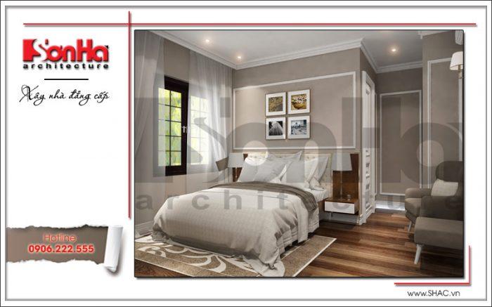 Mẫu thiết kế nội thất phòng ngủ hiện đại 4 sang trọng sh nop 0122