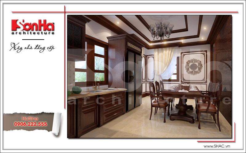 Ra mắt mẫu thiết kế nhà phố cổ điển 4 tầng tại Nam Định - SH NOP 0125 6