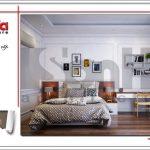 Thiết kế nội thất phòng ngủ hiện đại 5 sang trọng sh nop 0122