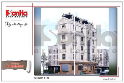 BÌA Thiết kế nhà phố cổ điển 5 tầng tại Hải Phòng xu hướng 2017 sh nop 0122