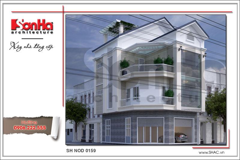 Mãn nhãn với nhà phố 4 tầng hiện đại mặt tiền rộng tại Lạng Sơn – SH NOD 0159 1