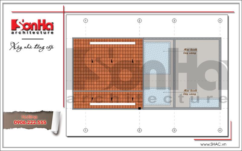 Khám phá mẫu nhà phố hiện đại 4 tầng mặt tiền độc đáo tại Hà Nội – SH NOD 0162 7