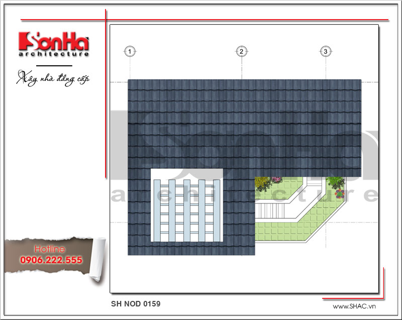 Mãn nhãn với nhà phố 4 tầng hiện đại mặt tiền rộng tại Lạng Sơn – SH NOD 0159 12