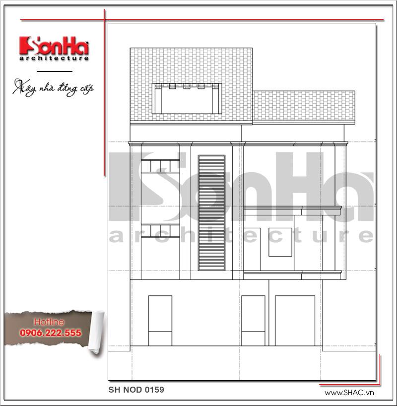 Mãn nhãn với nhà phố 4 tầng hiện đại mặt tiền rộng tại Lạng Sơn – SH NOD 0159 7