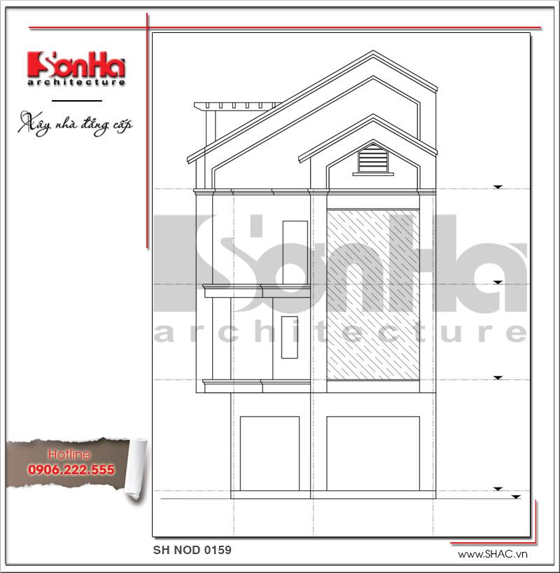 Mãn nhãn với nhà phố 4 tầng hiện đại mặt tiền rộng tại Lạng Sơn – SH NOD 0159 5
