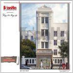 Mẫu thiết kế khách sạn mini 4 tầng kiến trúc cổ điển tại Sài Gòn sh ks 0031