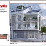 Mẫu thiết kế nhà phố hiện đại 4 tầng đẹp tại Lang Sơn sh nod 0159