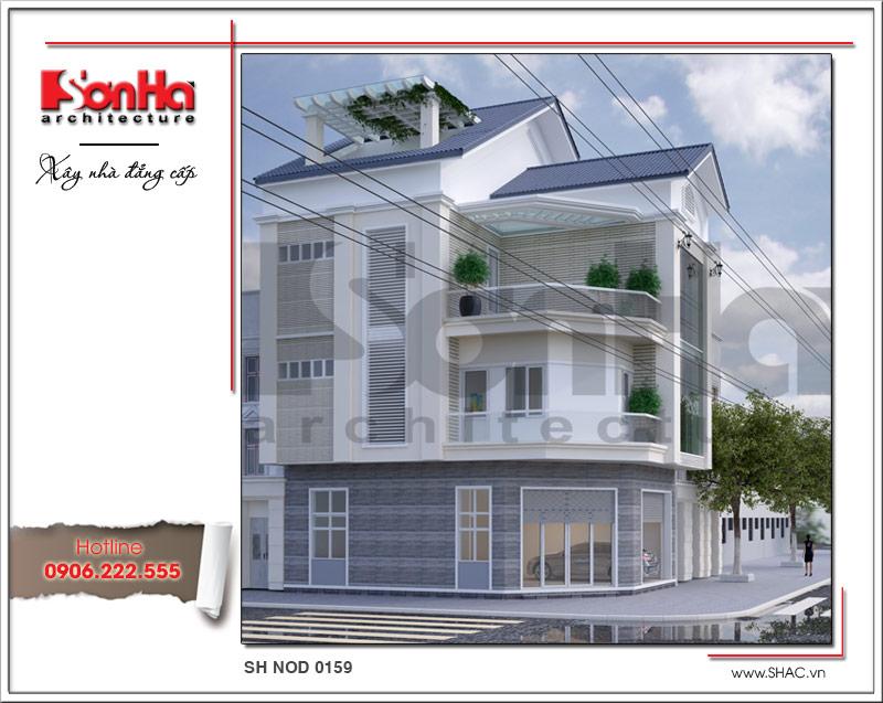 Mãn nhãn với nhà phố 4 tầng hiện đại mặt tiền rộng tại Lạng Sơn – SH NOD 0159 4