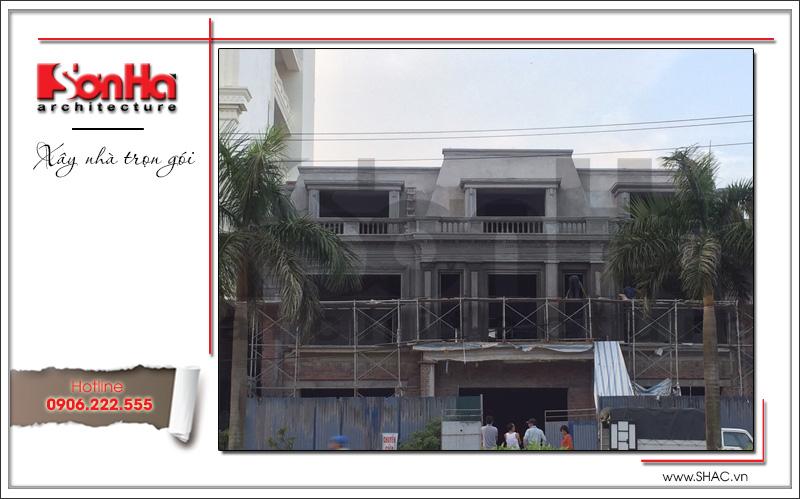 Ra mắt mẫu thiết kế showroom 3 tầng kết hợp nhà ở cao cấp tại Quảng Ninh – SH SR 0020 9