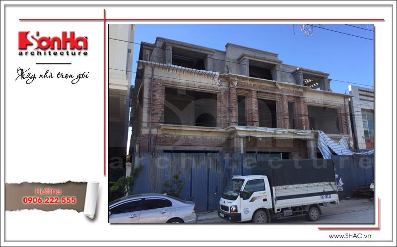 Ra mắt mẫu thiết kế showroom 3 tầng kết hợp nhà ở cao cấp tại Quảng Ninh – SH SR 0020 11