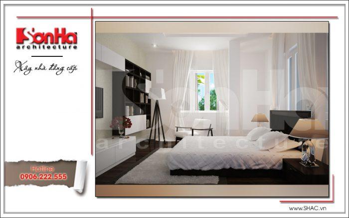 Mẫu thiết kế nội thất phòng ngủ đẹp và nổi bật với gam màu tinh tế điển hình xu hướng năm 2017