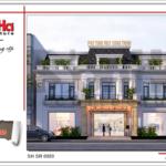 BÌA Thiết kế showroom kết hợp nhà ở tại Quảng Ninh sh sr 0020