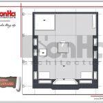 Mặt bằng mái showroom kết hợp nhà ở tại Quảng Ninh sh sr 0020